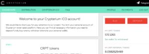 crypterium tokens